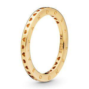 Pandora Hearts & Pandora Logo Ring